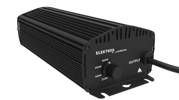 ELEKTROX ultimate 600W, elektronisch, 4 Stufen, IEC-Stecker