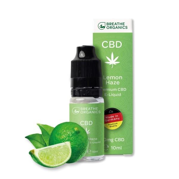 Breathe Organics 1% CBD E-Liquid Lemon Haze 10ml 100mg