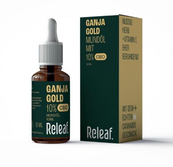 GanjaGold CBD-Öl 10%, 10ml