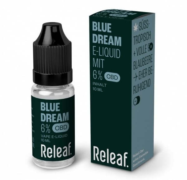 Releaf Blue Dream 6% CBD-Liquid