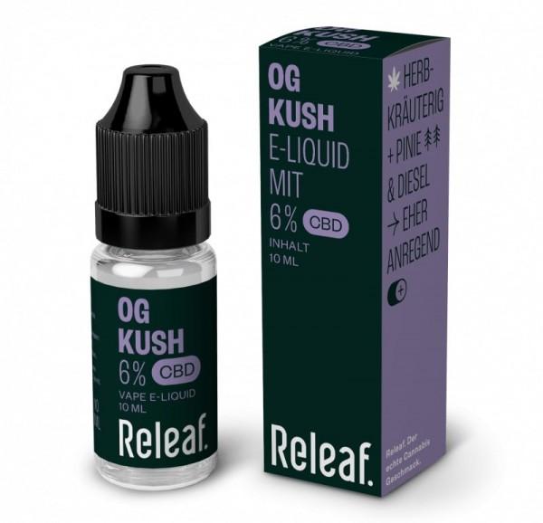 Releaf OG Kush 6% CBD-Liquid