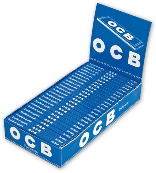 OCB Blau kurz Gummizug