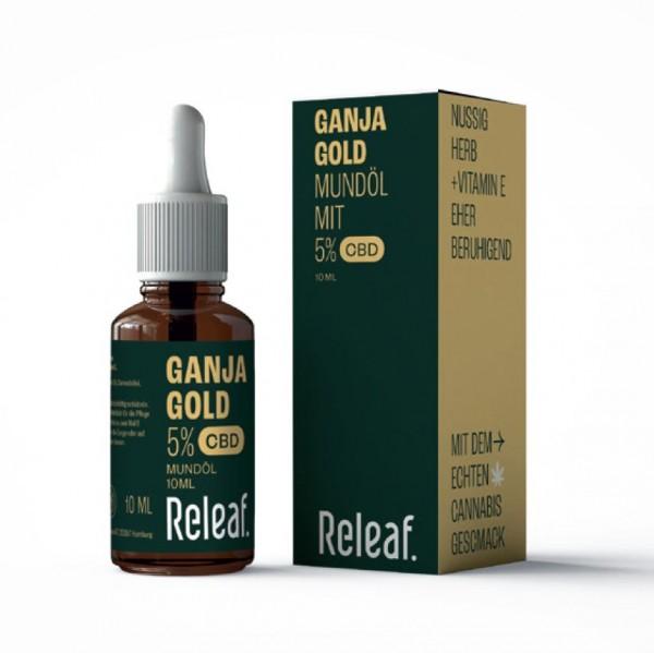 GanjaGold CBD-Öl 5%, 10ml