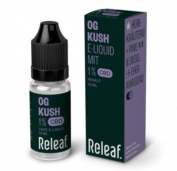 Releaf OG Kush 1% CBD-Liquid