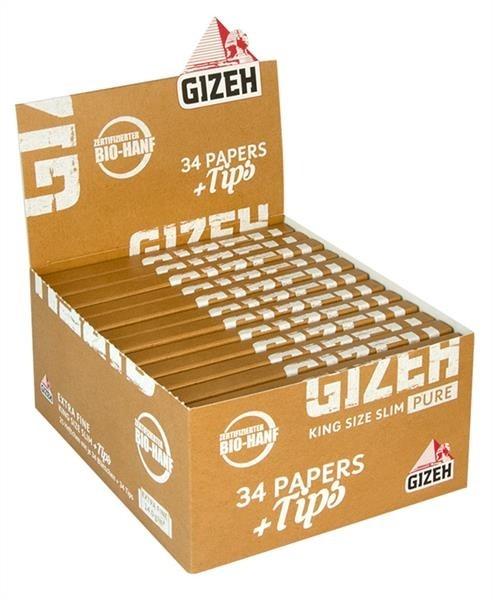 Gizeh Pure KS Slim + Tips
