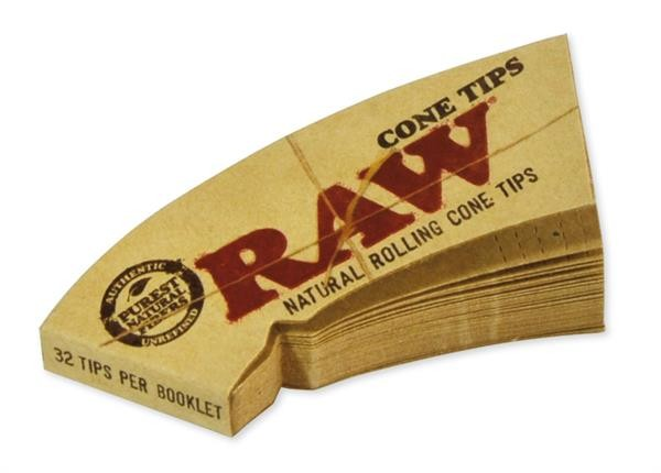 RAW Cone Shaped Filtertips, perforiert